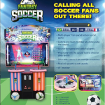 Arcade Heroes UNIS Producing A 2-Player Version Of Fantasy Soccer