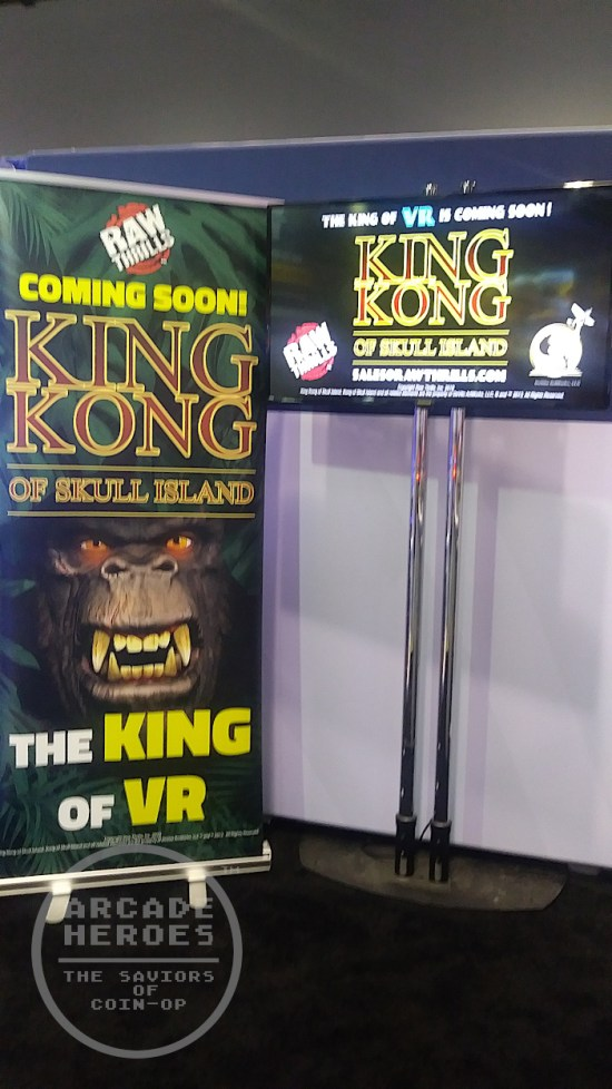 King Kong of Skull Island VR Ride by Raw Thrills