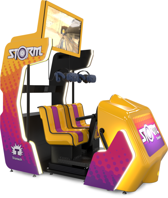 Storm VR ride simulator by Trio-Tech