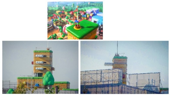 Super Nintendo World first pics