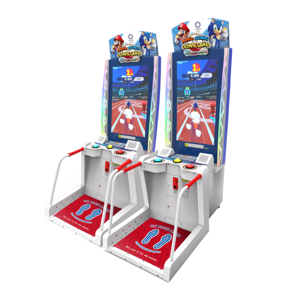 Mario & Sonic At The Olympic Games Tokyo 2020 Arcade Edition by Sega and Nintendo