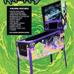 Arcade Heroes Ricky & Morty Pinball Now Available For Purchase