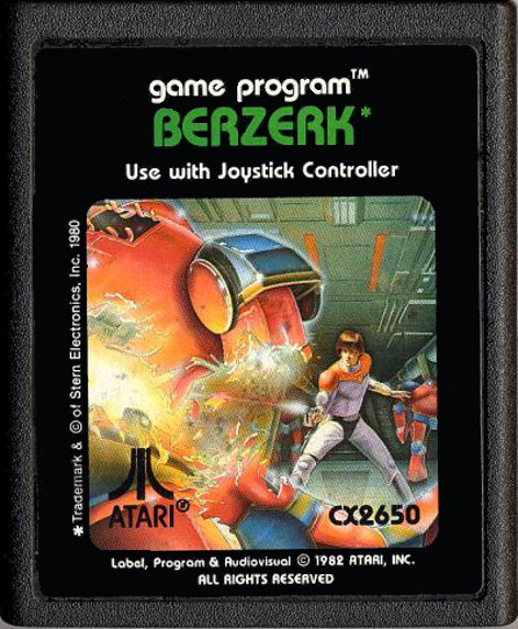 Berzerk for the Atari 2600