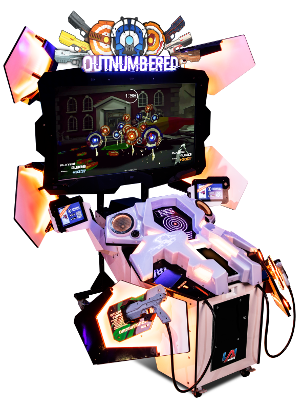 Outnumbered arcade game by LAI Games