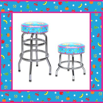 Official Ms. Pac-Man barstools