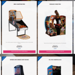 Arcade Heroes ICE Unveils Full Line Of Arcade Pro Games, Including Jurassic Park Pro
